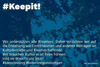 #Keepit!