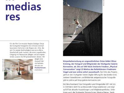 """Neue Ausgabe von """"in medias res"""" erschienen"""